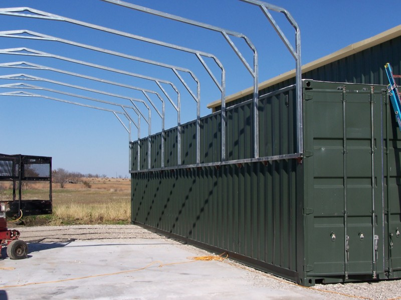 carport, long creek enterprises, storage, container, shipping