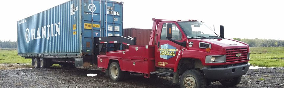 storage containers, Hanjin, Conex, Long Creek Enterprises